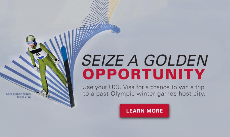 University Credit Union Visa Olympics